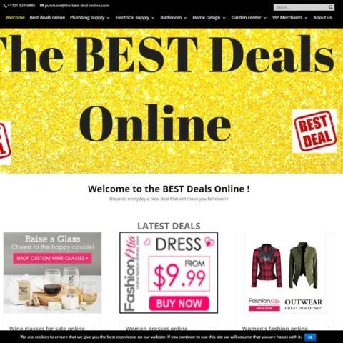 The best deal online